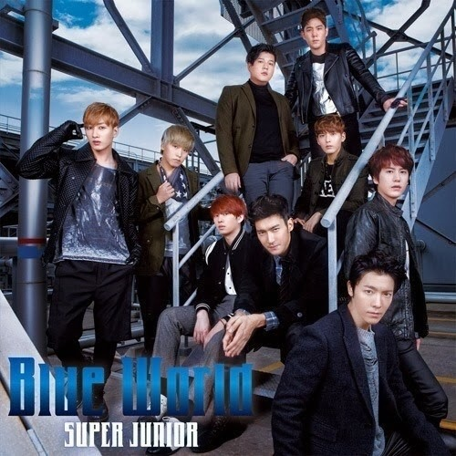 Super Junior 5. Japonca Teklisi Blue World�� Tan�t�yor! /// 28.11.13