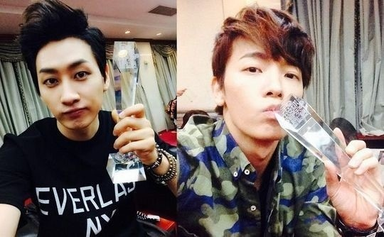 Super Junior�dan Eunhyuk ve Donghae �in�de �d�l Almaktan Etkilendiler /// 30.03.14
